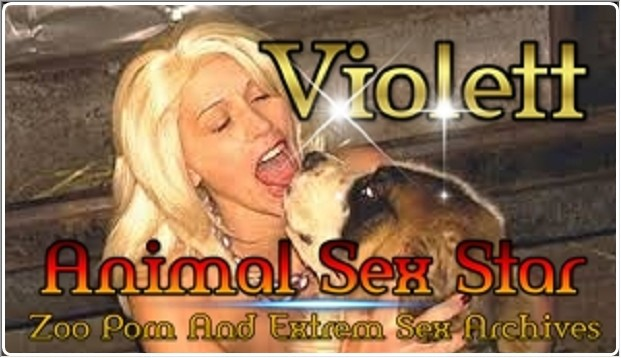 Violett – Animal Sex Actress