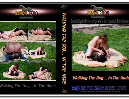 Super Zoo – Walking The Dog… In The Nude