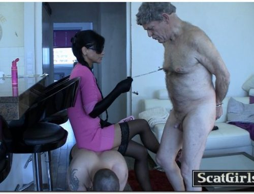 Extreme Scat Domination – Merciless scat-torture session