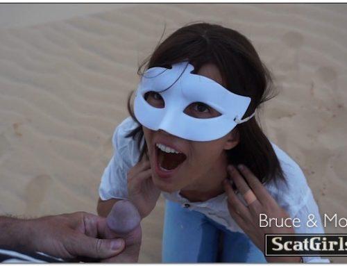 Thirsty Morgan In The Desert – BruceAndMorgan